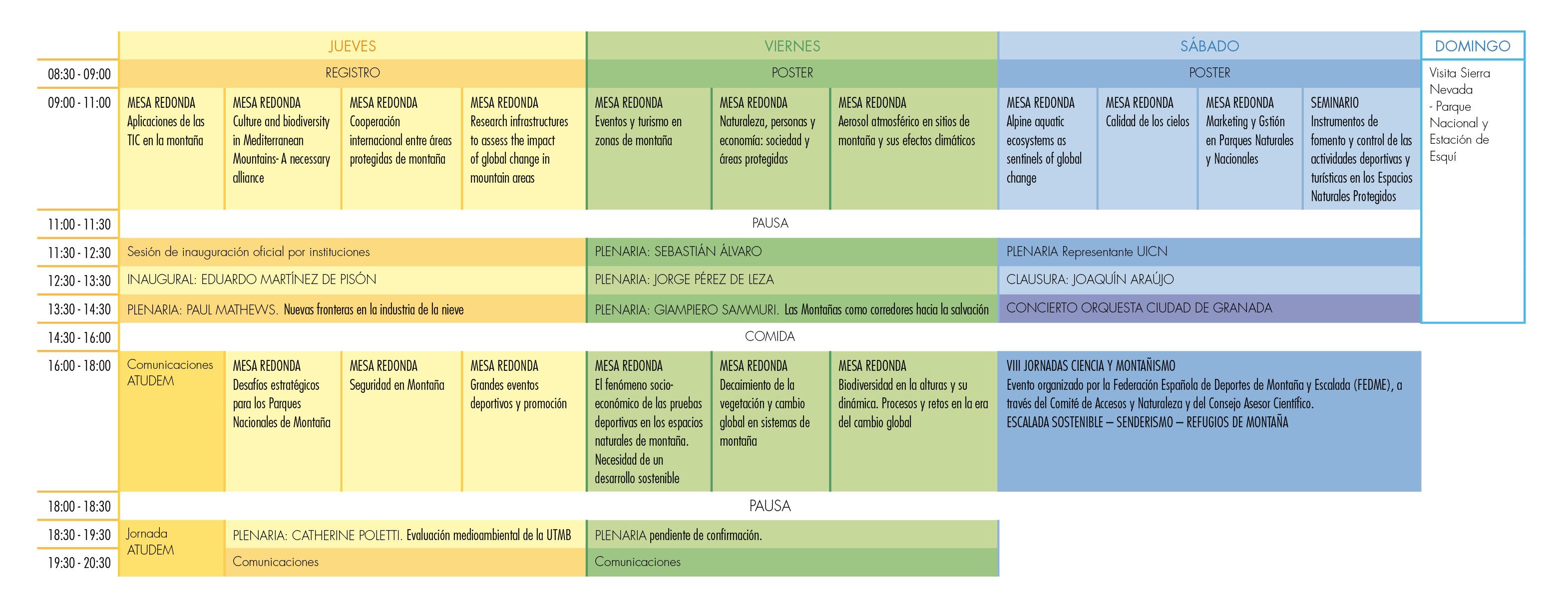 Calendario Congreso 16NOV